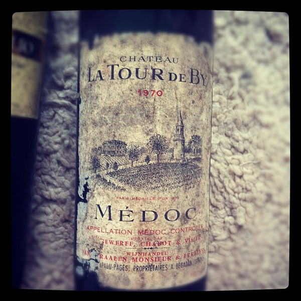 This wine is older than I am...