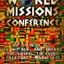 Excited about our World Missions Conference next month!