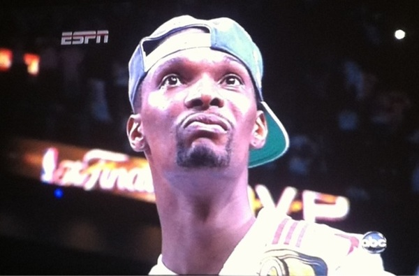 God damn dinosaur #ChrisBosh