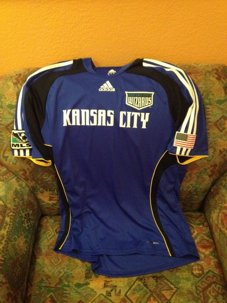 @swapofthetable Kansas City Wizards authentic Adidas Large #swapofthetable