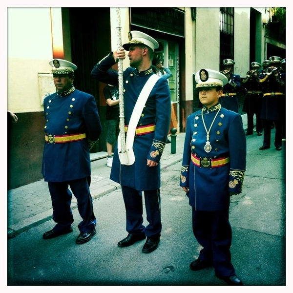 Three men, Semana Santa #seville #ssanta11 #iaow #