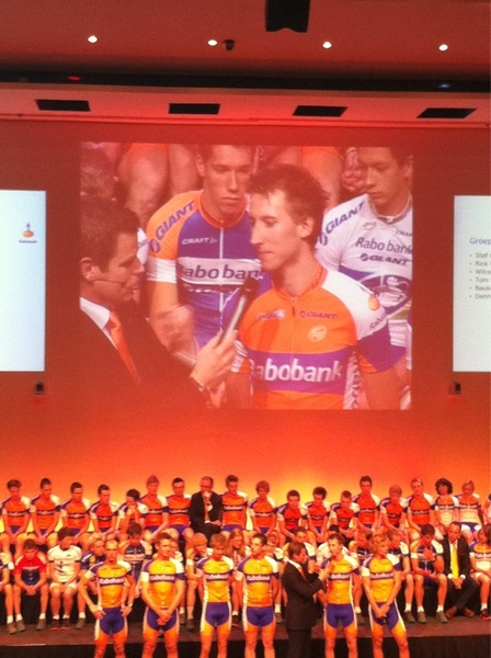 Bauke Mollema puts his focus on the tour 2012 #Raboteam