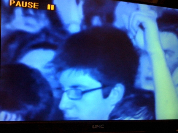 Yes :) have just found myself on the pendulum DVD :D