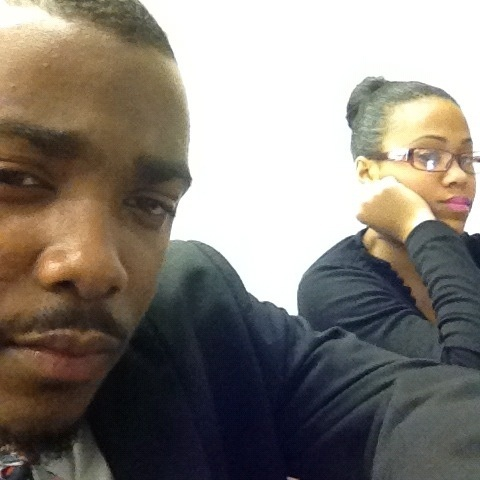 Me and @shayisbadd in this class waiting for these interviews ..
