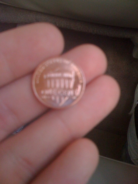Anybody seen these new Pennies? Cashier gave me nothing but new ones