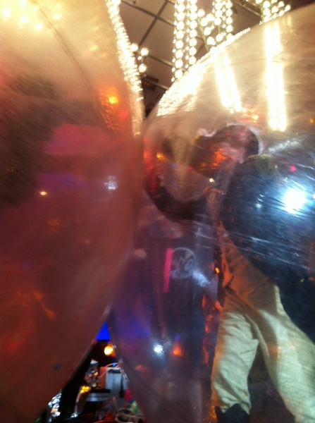 Double space bubble at Colbchella2012!!!