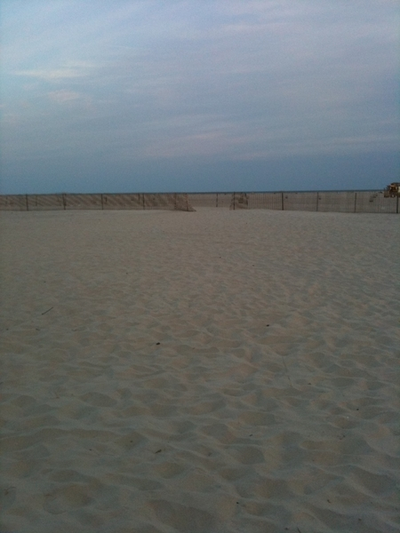 Long Island Beaches arent to busy at dusk!