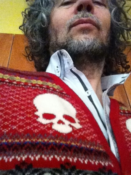 Cool skull sweater!!!!!