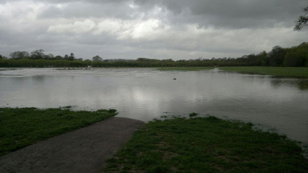 Longrun meadow flooded @tauntonpeople