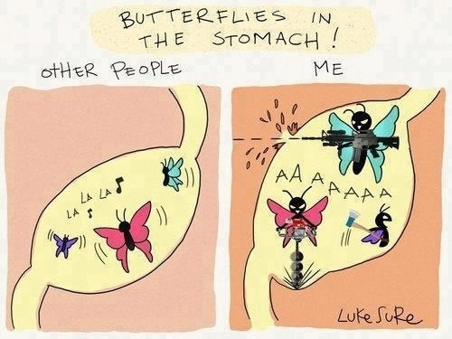 Butterflies?  