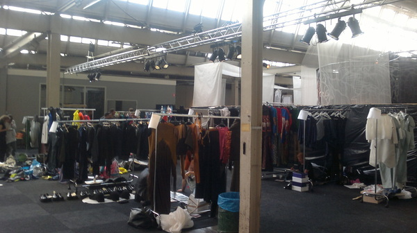 Backstage Day 3, FashionClash Maastricht