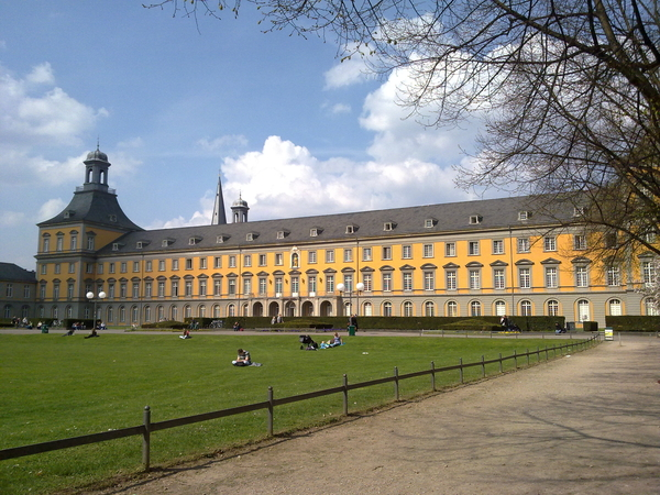 - Spring coming to University of #Bonn