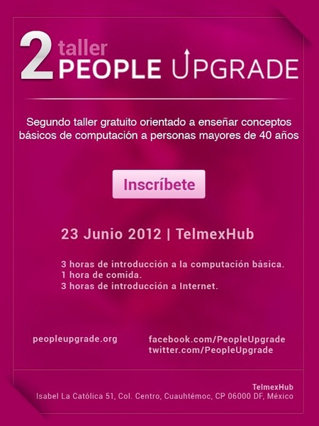 Ayuden a ayudar, @PeopleUpgrade necesita de ustedes. 