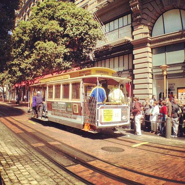 Hop on! #sanfrancisco