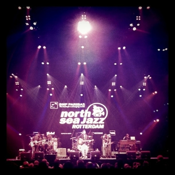 Waylon @ North Sea Jazz... would have been so amazing to see Rumer + Metropole on this stage... #nsj11