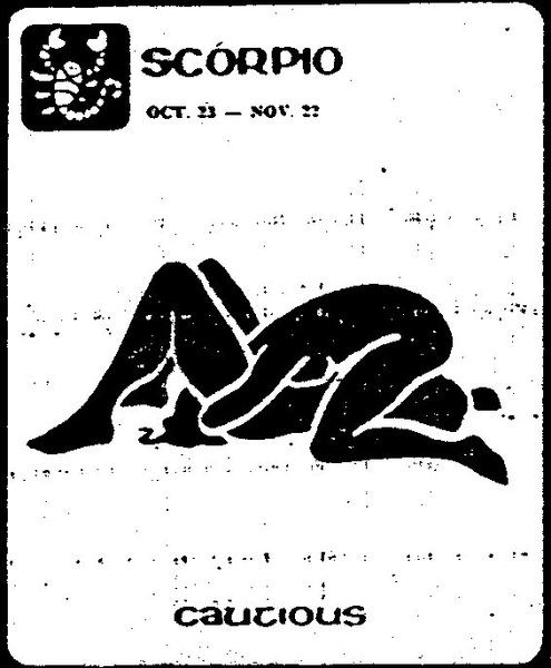 Next... Scorpio: Oct 23 - Nov 21 ''Cautious'' (Posisi Sex Sesuai Zodiak)