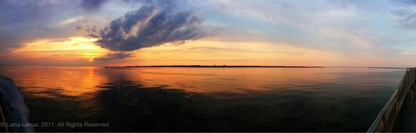 #CapeCod Bay #sunset #pano