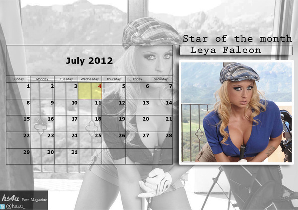#LeyaFalcon 's New calender fo JULY 2012- she is sexy---she is hot.... now wat more do u want?