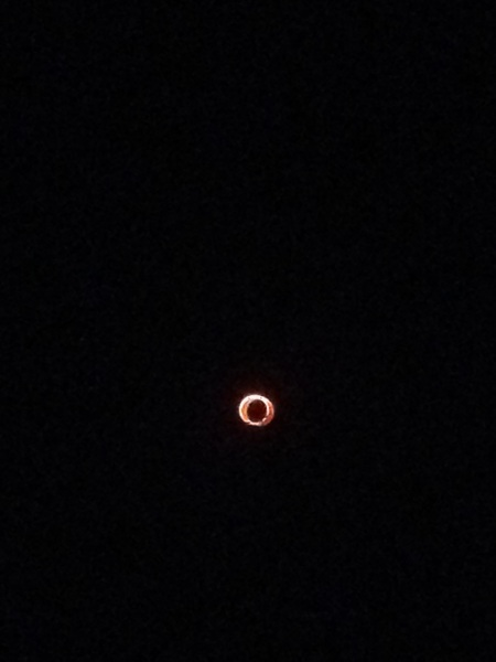 Ring of fire! #eclipse #abq