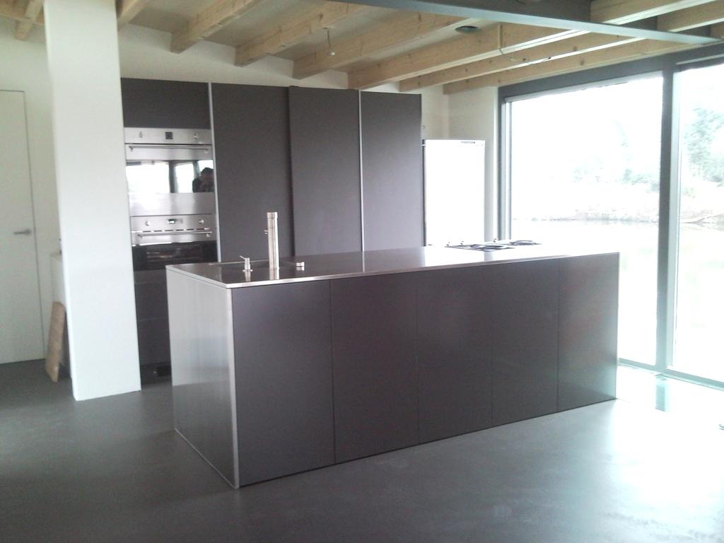 Kookeiland uitschuifbare tafel - Tafel design keuken ...