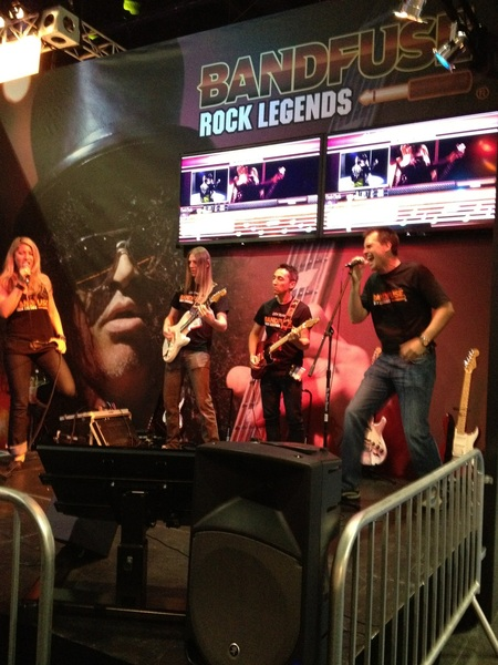 Looks like we'll be upgrading to Bandfuse Rock Legends soon! So fun!! I'm. The. Cult. Of. Personality! #E3