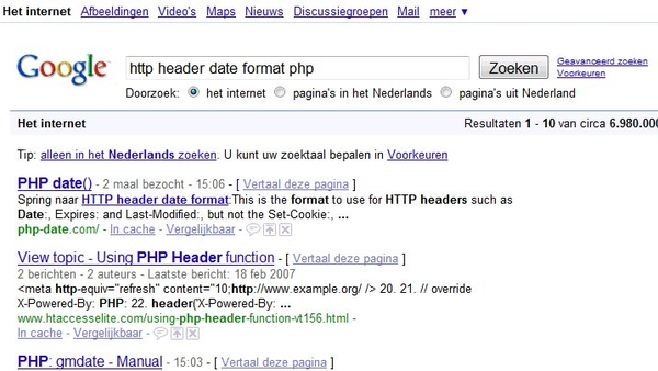 Do we already know this search snippet with links in meta content?