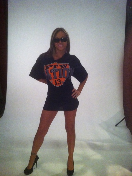 Thanks to @VelVelHoller rockin my new FTW NATION tshirt!  Let the pigeons loose! http://shoptna.com/taz-nation.aspx