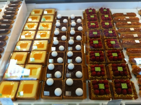 Fauchon: everything looks absolutely perfect. 