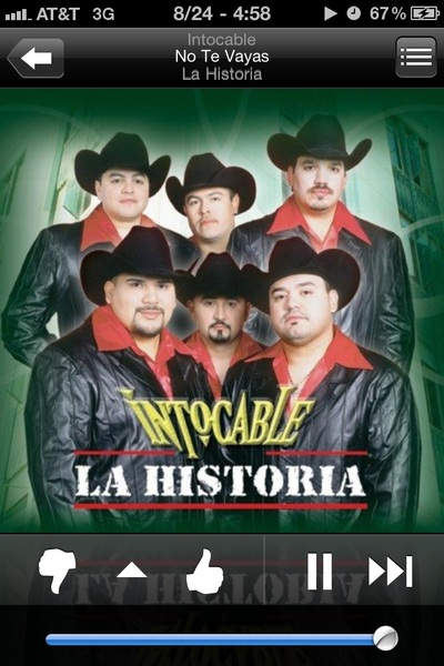 ♬♫ #NP No Te Vayas--> Intocable ♬♫  Yeah it's that kinda morning...
