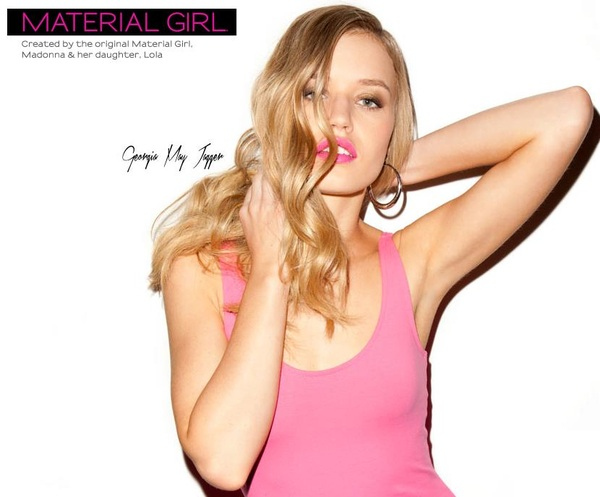 1st Look! Georgia May Jagger for Material Girl Collection Campaign!