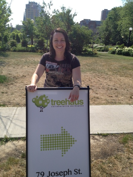 After a long week, @treehauscw is open at 79 Joseph #kitchener
